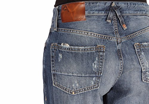 D1079 Denim Oz Indaco Cotone Mpt314 11 Jeans 2892 Uomo Real Cycle nUXv8vqtxw