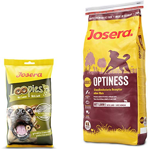 Josera 15 kg Optiness + 150 g Loopies Lamm