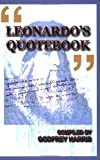 "Leonardo's ""Quotebook"", Leonardo and Godfrey Harris, 0935047573"