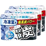 【まとめ買い】 脱臭炭 冷凍室用 脱臭剤 70g ×3個