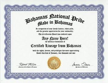 amazon com the bahamas bahamian national pride certification