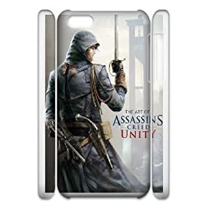 iphone5c Phone Case White Assassin's Creed Unity ZCC574772