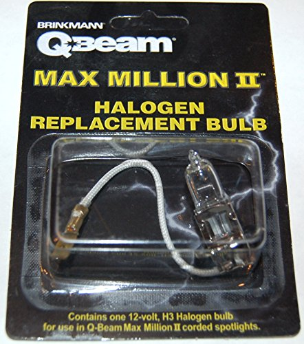 (Brinkmann Q-Beam Max Million II Halogen Replacement Bulb)