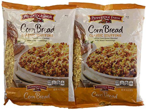 Pepperidge Farm, Cornbread Stuffing, 14oz Bag (Pack of 2)