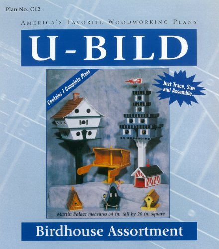(U-Bild C12 Birdhouse Assortment Project Plan)