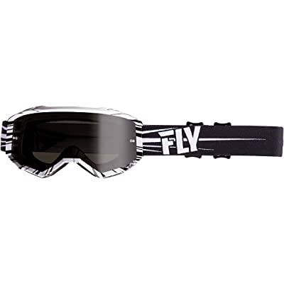 Fly Racing 2020 Zone Goggles (Black/White): Automotive
