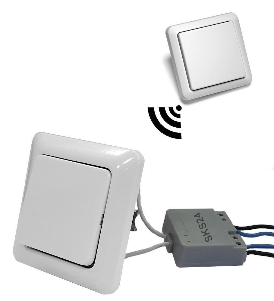 Funklicht-Set - zusätzlicher Lichtschalter für vorhandene Lampen ...