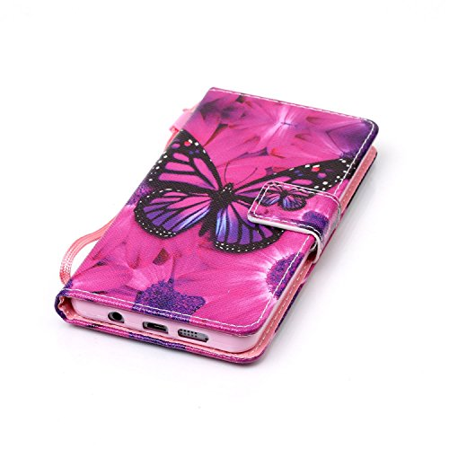 Para Smartphone Samsung Galaxy A5(6) sm-a510F (2016) móvil, piel para Samsung Galaxy A5(6) sm-a510F (2016) Flip Cover Funda Libro Con Tarjetero Función Atril magnético (+ Polvo Conector) blanco 8 7