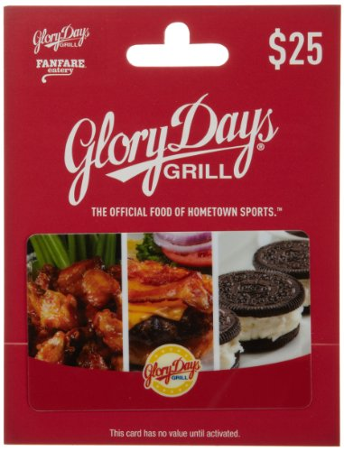 Fanfare Gift (Glory Days Gift Card $25)