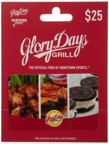 Glory Days Gift Card $25
