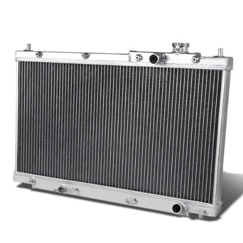 (For Honda Civic Full Aluminum 2-Row Racing Radiator - EM ES Manual MT only)