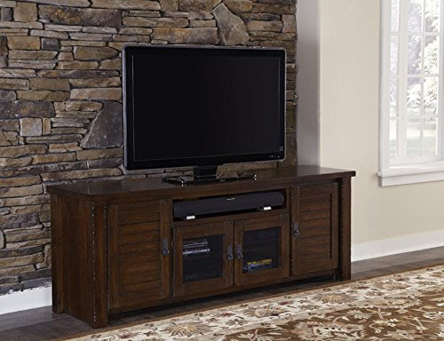 (Progressive Furniture Trestle Wood 74