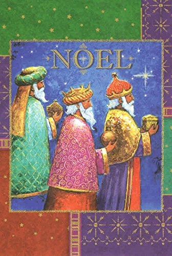 religious christmas cards set of 16 cards and envelopes noel wise men presenting - Religious Christmas Gifts