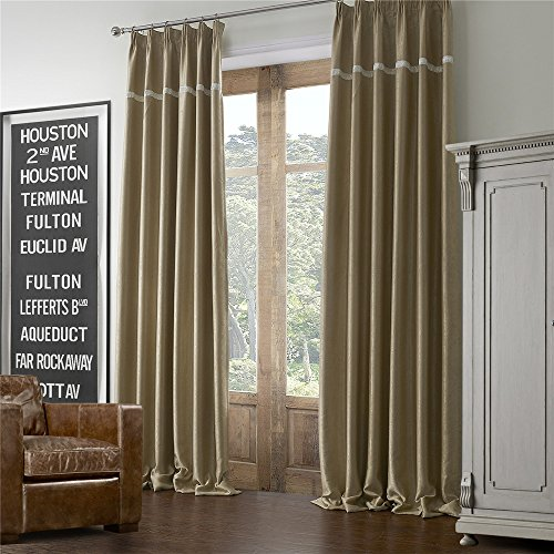 Curtains Ideas curtains for double windows : Double Wide Grommet Curtains: Amazon.com