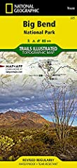 • Waterproof • Tear-Resistant • Topographic Map       The largest protected area of the Chihuahuan Desert, Big Bend National Park is a remote land of surprising beauty and remarkable biodiversity. Expertly researched and created...