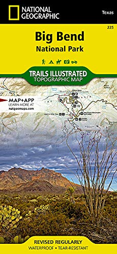 Big Bend National Park (National Geographic Trails Illustrated Map) ()