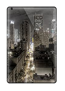 High Quality Donald P Reed City At Night, Lights Skin Case Cover Specially Designed For Ipad - Mini/mini 2
