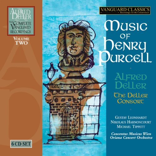 Music of Henry Purcell (The Complete Alfred Deller Vanguard Recordings, Volume 2)