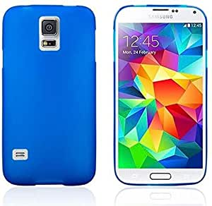 Matte Mosha Style Samsung Galaxy S5 SV G900 SM-G900F G900H G900I G900K G900L G900S i9600 TPU Silicone Gel Cover Case Include Calans Screen Protector -(DB)