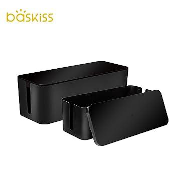 Baskiss Kabelbox Maxi mit Gummifüßen: Amazon.de: Elektronik