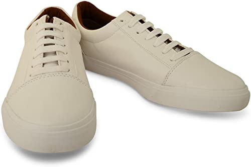 synthetic leather trainers