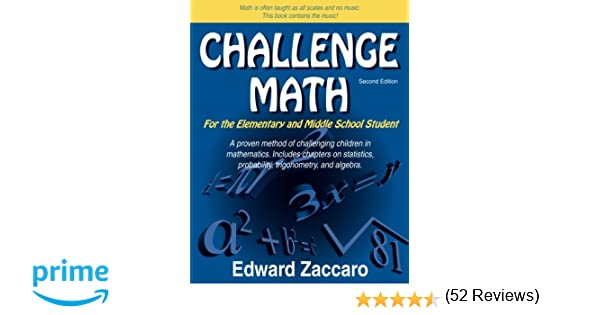 Amazon.com: Challenge Math For the Elementary and Middle School ...
