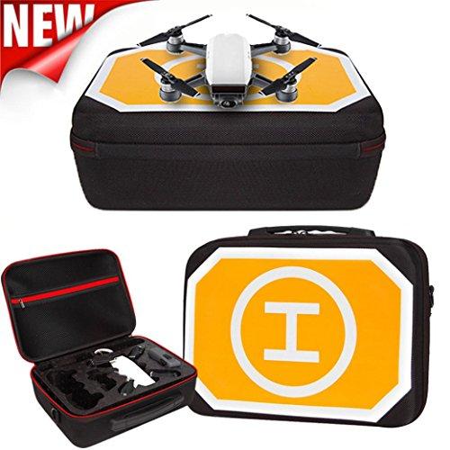 For DJI Spark shoulder bag + apron drone outdoor waterproof backpack shoulder bag mini parking lot waterproof Oxford cloth (Shoulder Bag + Apron) by Banana_US