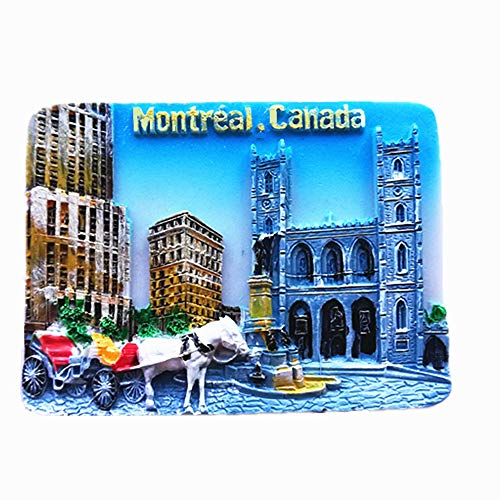 3D Montreal Canada Souvenir refrigerator magnet,home and kitchen decoration Montreal Canada fridge magnet - Canada Souvenir Fridge Magnet