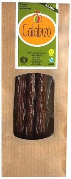 Calabizo Chorizo Vegano de Calabaza, 120g