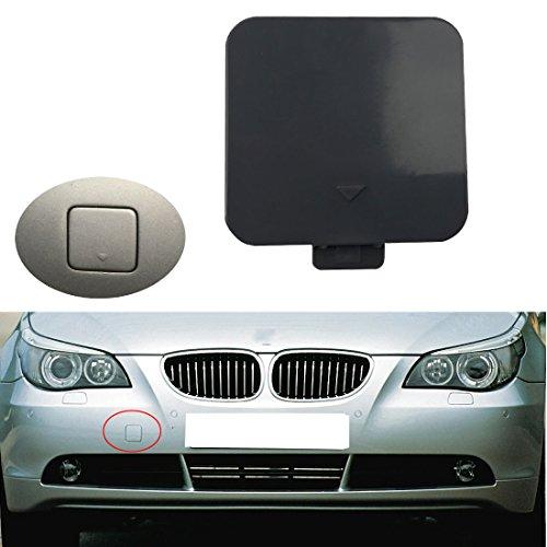 Free2choose Front Bumper Tow Hook Cover Cap For BMW E60 E61 525i 528i 530i 530xi 540i 2004-2007