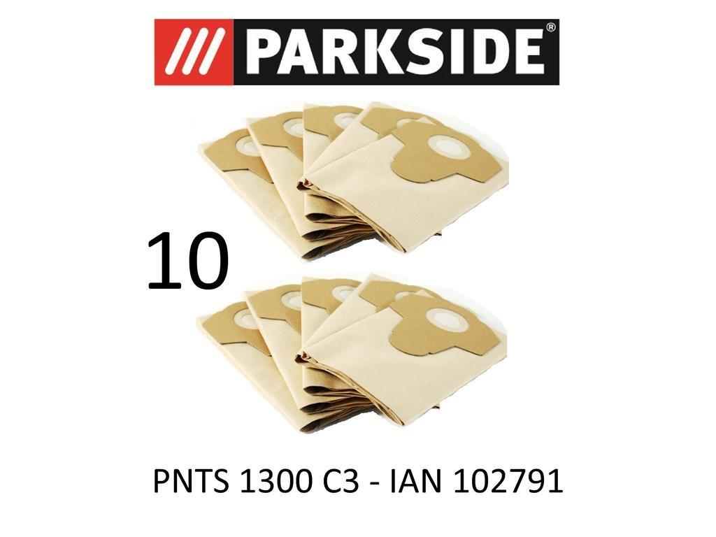 Acquisto Parkside, 10 sacchetti aspirapolvere, 20 L PNTS 1300 C3, Lidl IAN 102791, marrone 906-05, aspirapolvere a secco Prezzo offerta