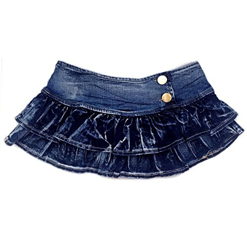 Sexy Denim Skirt Women Dancing Club Wear Short Skirts Micro Mini Dancing Skirt Pleated