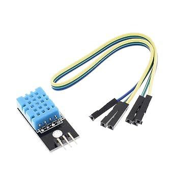 1//2//5//10 PCS DHT11 Temperature and Relative Humidity Sensor Module