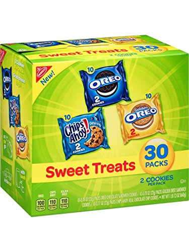 Nabisco Sweet Treats Variety Pack, 30 Count by Nabisco