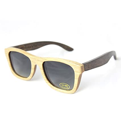 WOOD FELLAS, Madera tíos Jalo gafas de sol, gafas de sol de ...
