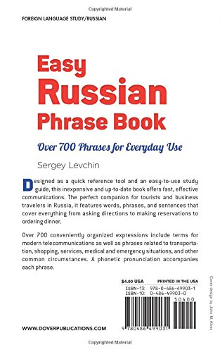 Easy Russian Phrase Book NEW EDITION: Over 700 Phrases for