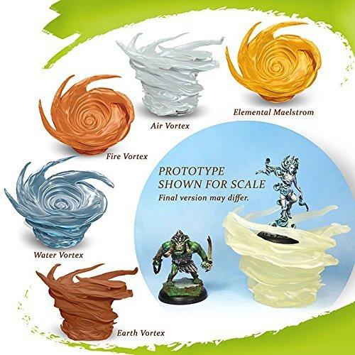 Drakerys: 4 Element Vortexes & 1 Maelstrom by Surfin' Meeple