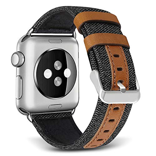SKYLET Bands for Apple Watch, 38mm/42mm Canvas ...