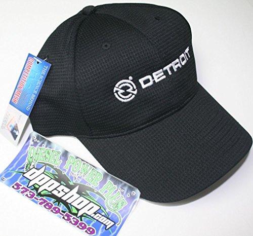 detroit diesel semi trucker ball cap hat gear motor engine moisture wicking mesh (Diesel Power Gear Clothing compare prices)