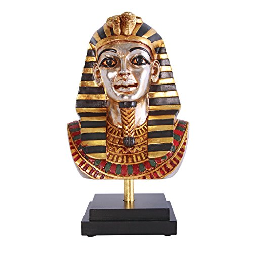 Design Toscano Egyptian King Tutankhamen Statue on Museum Mount ()
