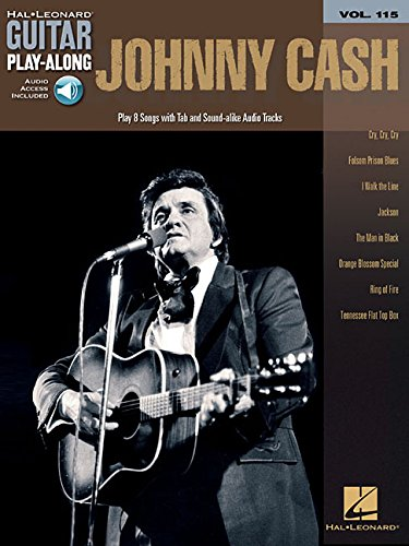 Johnny Cash: Guitar Play-Along Volume 115