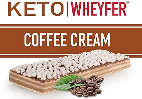 Convenient Nutrition Keto Wheyfer Bars Coffee Cream – 10 Bars