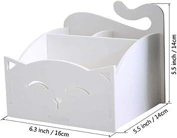 Scatola in legno fai da te con 3 scomparti Shager bianco