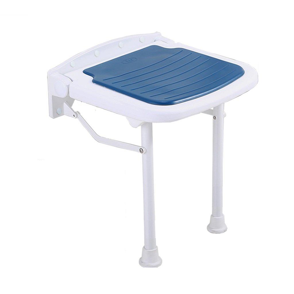 壁掛け式折り畳み式シャワーチェアと椅子/身長の異なる人に適した障害のある妊婦と高齢者のためのバスルーム用スツールセーフノンスリップ (サイズ さいず : 45cm) B07F3YZC8K 45cm  45cm
