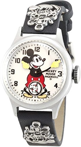 Ingersoll Unisex IND 25833 Ingersoll Mickey Mouse 30's Collection Strap Mechanical Watch