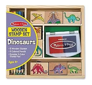 Melissa & Doug Dinosaur Stamp Set