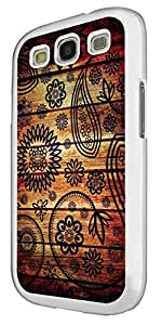 1201 - Middle East Art Shabby Chic Sharms Design For Samsung Galaxy S3 i9300 Fashion Trend CASE Back COVER Plastic&Thin Metal - White