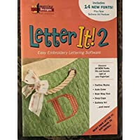 Amazing Designs Letter It! 2 Easy Embroidery Lettering Software