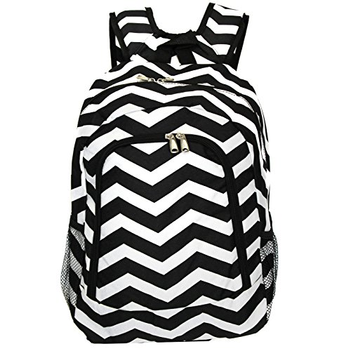Black and White Backpack: Amazon.com