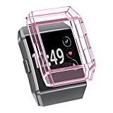 RedTaro Protector Cover/Sleeve for Fitbit Ionic Smartwatch,Fitbit Ionic Smart Watch Accessory Protector Cover/Sleeve,Pink